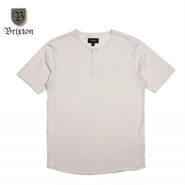 BRIXTON(ブリクストン) BERKELEY S/S HENLEY オフホワイト