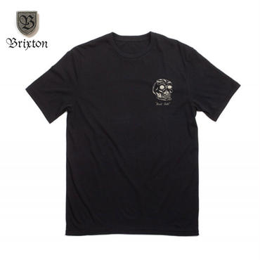 BRIXTON(ブリクストン) LAST CALL S/S TEE ブラック