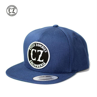 Cycle Zombies(サイクルゾンビーズ) CALIFORNIA Premium Twill Snapback Hat Navy