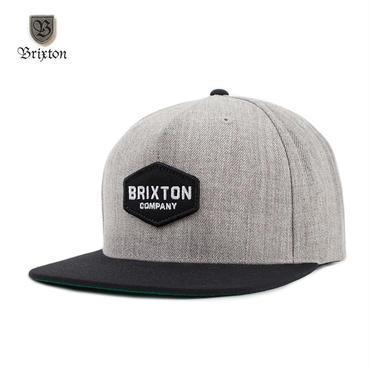 BRIXTON(ブリクストン) OBUTUSE SNAPBACK グレー