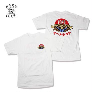 HARD LUCK(ハードラック)RED SUN S/S TEE ホワイト