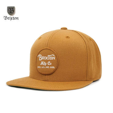 BRIXTON(ブリクストン)Wheeler SNBK ブラウン