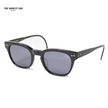 THE HIGHEST END(ザ ハイエスト エンド)xUNCROWD(アンクラウド)TE-010 Mincing ブラックフレームxスモークレンズ