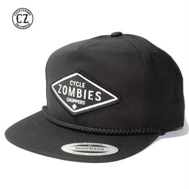Cycle Zombies(サイクルゾンビーズ) DIY Premium Poplin Golf Snapback Black