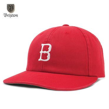 BRIXTON(ブリクストン) WANGER SNAPBACK レッド