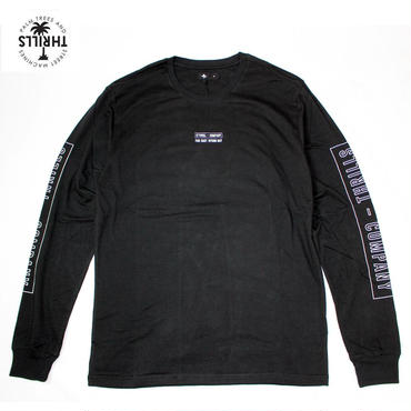 THRILLS(スリルズ) Outline Stripe L/S