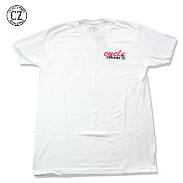 Cycle Zombies(サイクルゾンビーズ)CHIPPER T-Shirt White