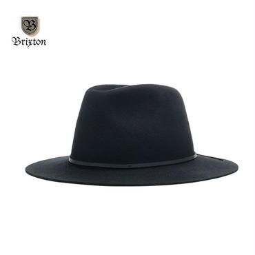 BRIXTON(ブリクストン) WESLEY FEDORA ブラック