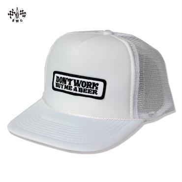 BLUCO(ブルコ) B.W.Gオリジナルキャップ Don't Work ホワイト