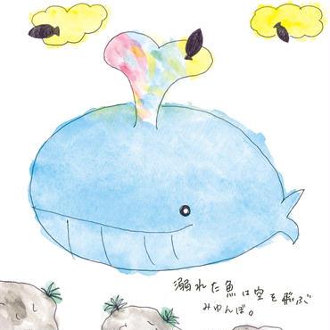 みゆんぼ。:溺れた魚は空を飛ぶ【直筆サイン入り本人直送】