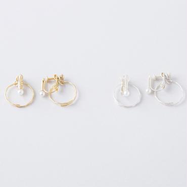 タンブルカットチェンジャブルイヤリング /  Tumble cut convertible Earring