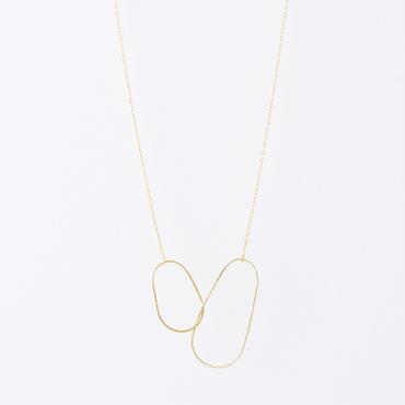 エッグラインネックレス  /  Egg line Necklace