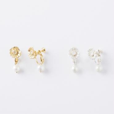 ボタニカルイヤリング (フラワー)/  Botanical Earring ( Flower)