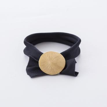 ラウンドラインポニー /  Round plate Hair elastic