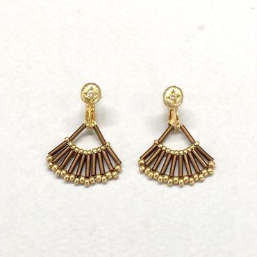 フレアビーズイヤリング /  Flare beads Earring