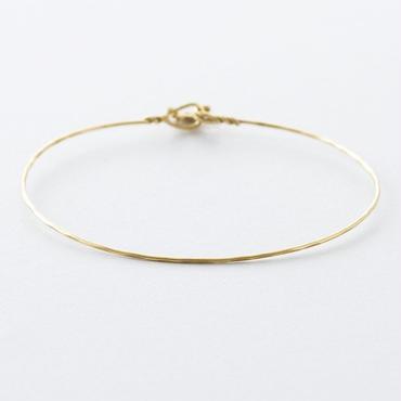 真鍮線バングル /  Brass Wire Bangle
