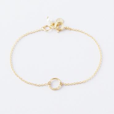 ハーフプレスリングブレスレット /  Half press ring Bracelet