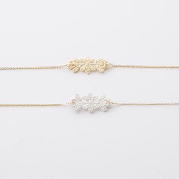 レースチェーンブレスレット /  Lace Chain Bracelet