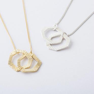 セブンスクエアネックレス  /  Random Heptagon Necklace