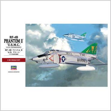 """プラモデル ハセガワ 1/48 RF-4B ファントムII """"U.S. マリーン"""" PT31 生産休止品"""