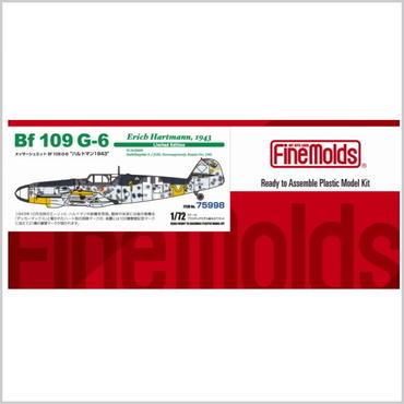 """プラモデル ファインモールド メッサーシュミット Bf 109 G-6 """"ハルトマン1943"""" 75998"""