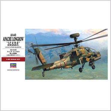 """プラモデル ハセガワ 1/48 AH-64D アパッチロングボウ """"陸上自衛隊"""" PT42"""