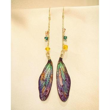 【蝉】Cicada Pierce - Purple Marble -