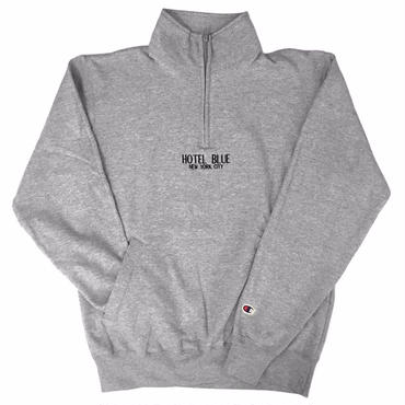 HOTEL BLUE / LOGO CHAMPION 1/4 ZIP