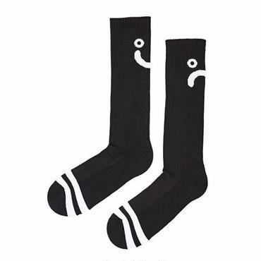 POLAR SKATE CO. / UPSIDE DOWN HAPPY SAD SOCKS