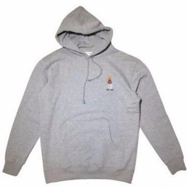 QUARTERSNACKS / EMBROIDERED SNACKMAN HOODY