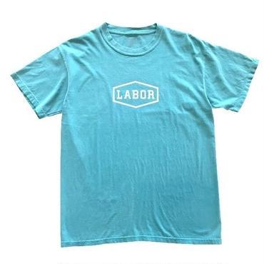LABOR / CREST LOGO TEE OVERDYED