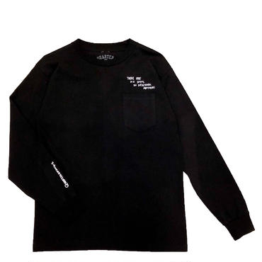 QUARTERSNACKS / THOUGHT L/S POCKET