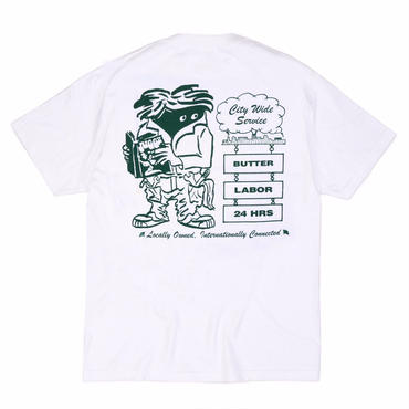 BUTTER GOODS x LABOR / CITYWIDE SERVICE TEE