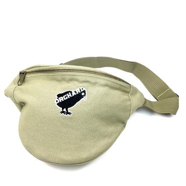 ORCHARD / BIRD EMBROIDERED HIP PACK