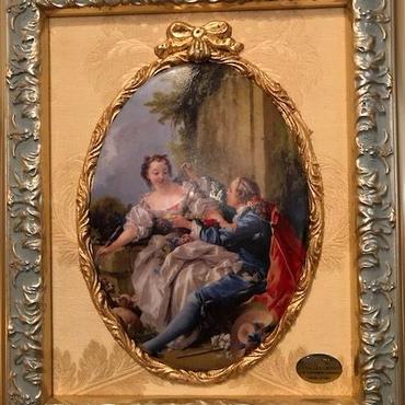 イタリア製 壁掛け絵皿 ITALIA CORNICI