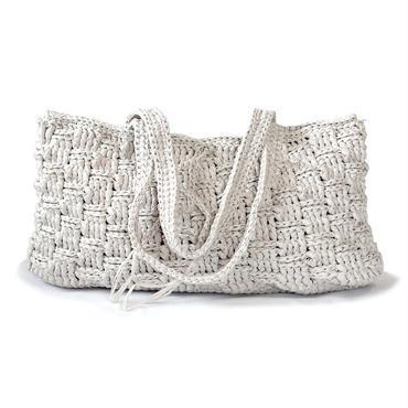 和紙のハンドバッグ(ホワイト)【10701】