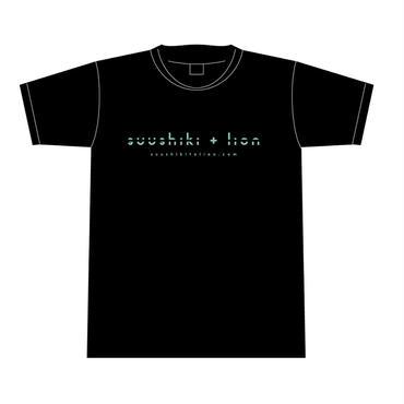Tシャツ <ブルー>【数式とライオン】
