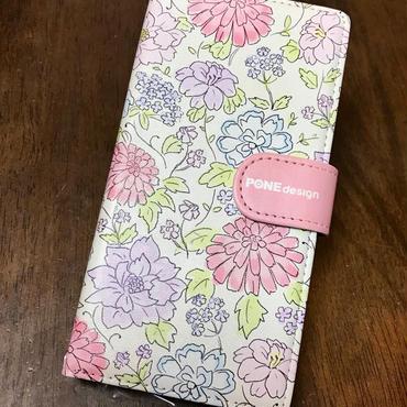 手帳型ケース springflower