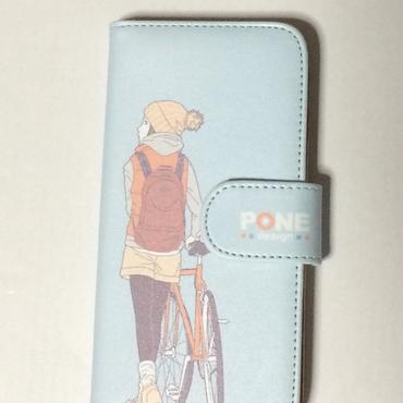 手帳型ケース bicycle
