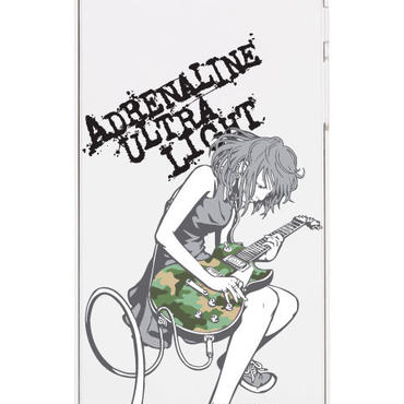 スマホハードケース GuitarGirl Green