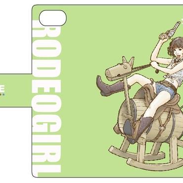 手帳型ケース RODEOGirl