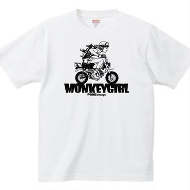 MonkeyGirl  Tシャツ