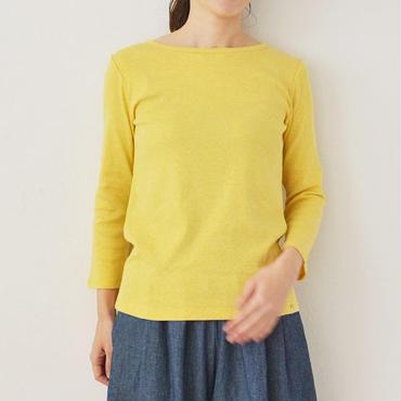 七分袖ボートネック Tシャツ    (PH9101)