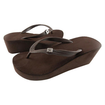 7CM Wedges - Brown