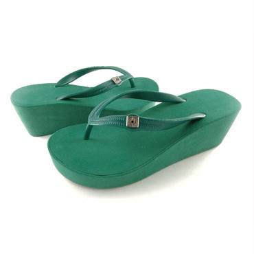 7CM Wedges - Green