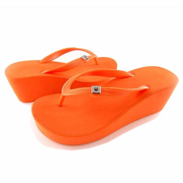 7CM Wedges - Orange