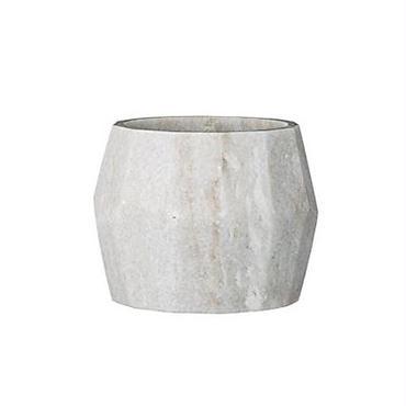 Bloomingville flowerpot marble geometric small (大理石の鉢)