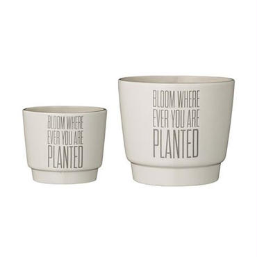 Bloomingville Bloom flowerpot 2-pack (植木鉢 2個セット)