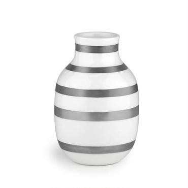 Omaggio vase silver S