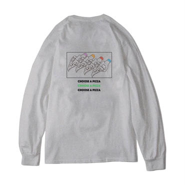 CHOOSE A PIZZA L/S Tee